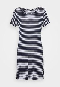 Marks & Spencer London - MINISHIRT STRIPE - Nightie - navy mix - 3