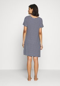 Marks & Spencer London - MINISHIRT STRIPE - Nightie - navy mix - 2