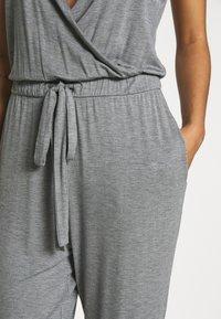 Marks & Spencer London - HANGING LOUNGE JUMPSUIT - Pyjamas - charcoal - 5