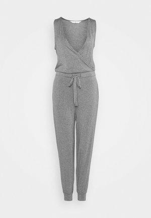 HANGING LOUNGE JUMPSUIT - Pyjama - charcoal