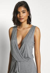 Marks & Spencer London - HANGING LOUNGE JUMPSUIT - Pyjamas - charcoal - 3