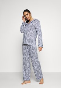 Marks & Spencer London - HANGING FLORAL SET - Pyjamas - blue mix - 1