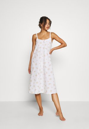 NIGHTDRESS DITSY - Nattskjorte - white