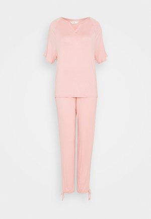 HANGING SET - Piżama - pink