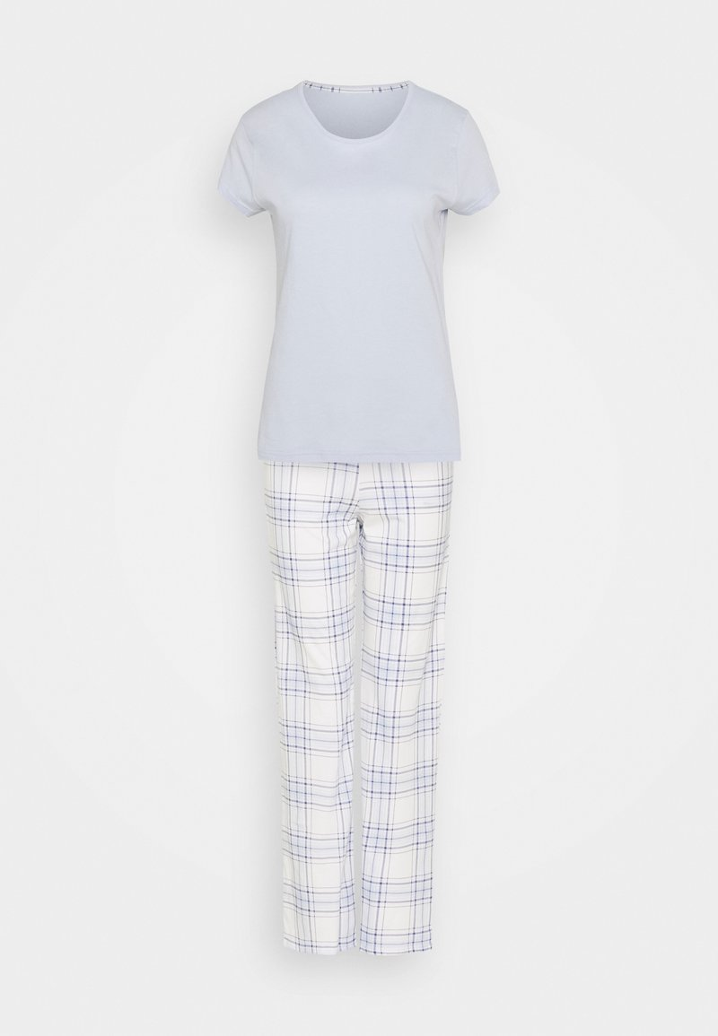 Marks & Spencer London - CHECK SET - Pyjamas - blue mix