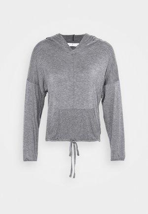 HOOD - Pyjamasoverdel - charcoal