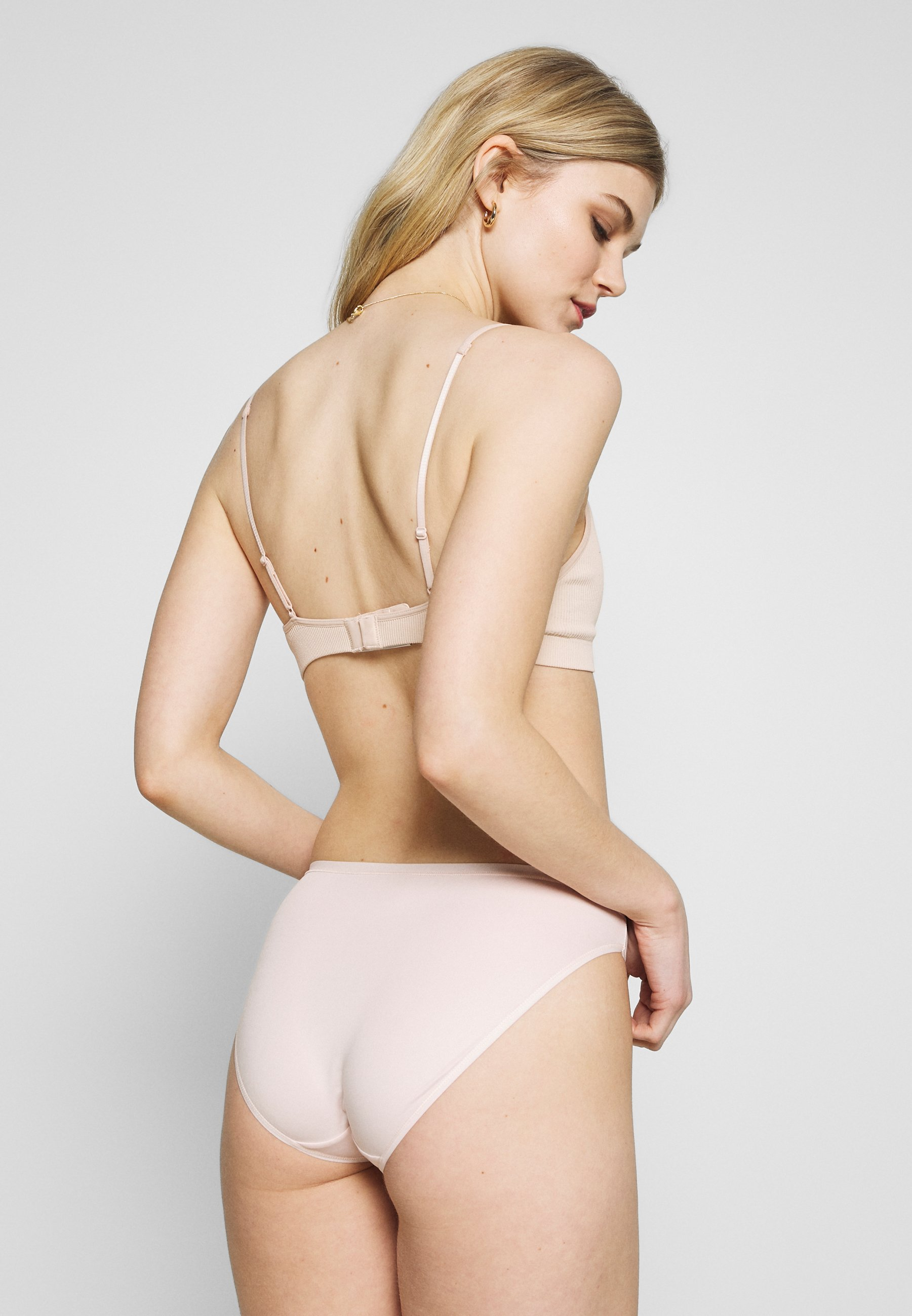 Marks & Spencer London High Leg 5 Pack - Slip Pale Pink
