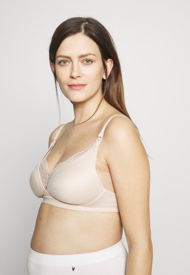 SOFT NURSING - Soutien-gorge invisible - almond