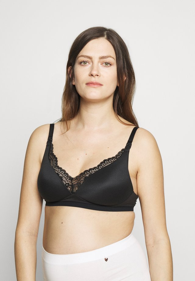 SOFT NURSING - Soutien-gorge invisible - black