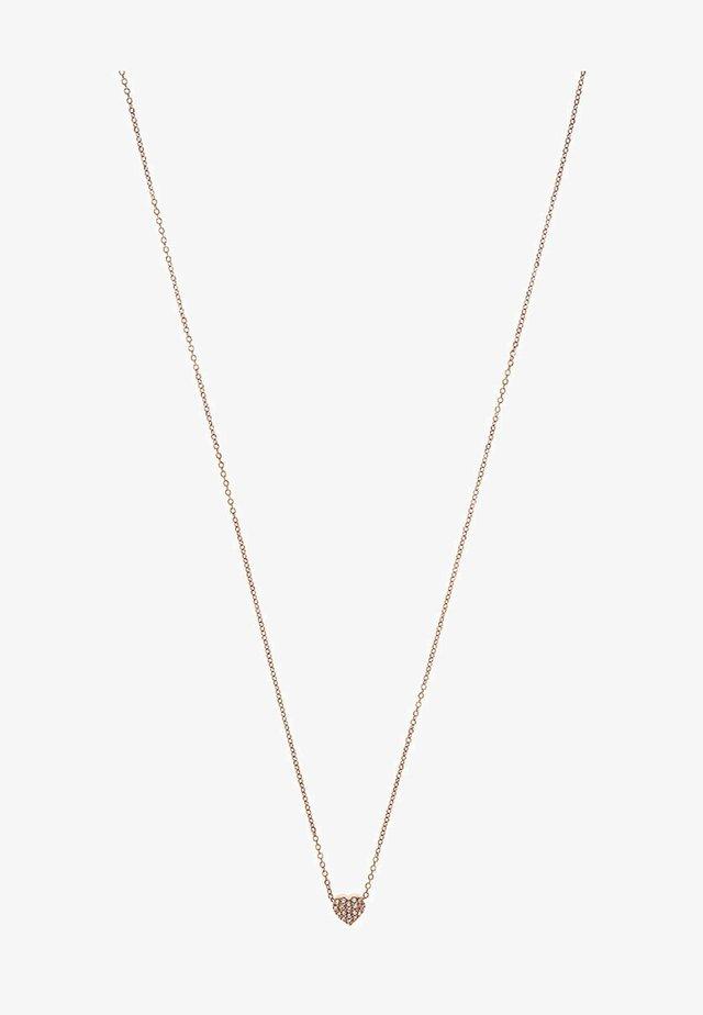 Halskette - rosegold-coloured