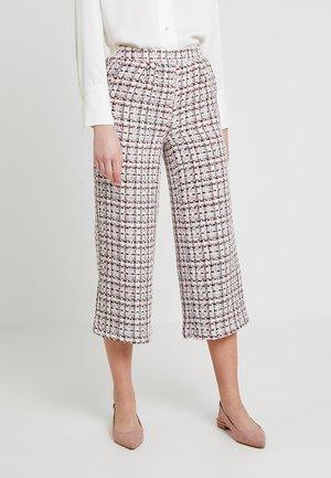 CROPPED WIDE LEG - Pantalon classique - multi