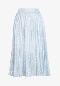Sister Jane - PLEATED SKIRT IN SHIMMER STAR - A-lijn rok - light blue/white - 3