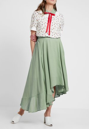 HERBAGE BUTTERFLY SKIRT - Maxinederdele - green