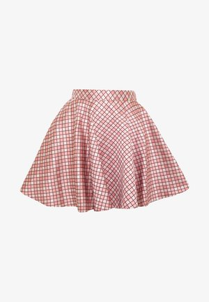 DAPHNE DIAMOND SKATER SKIRT - A-line skirt - pink