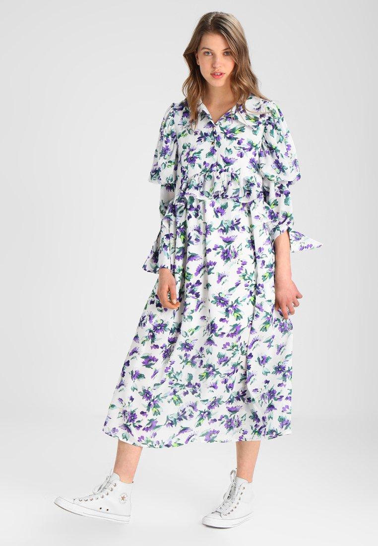 Sister Jane - SHRINKING VIOLET MIDI DRESS - Maxi dress - white