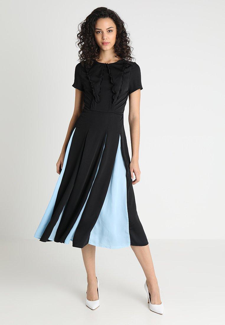 Sister Jane - PROPELLER MIDI DRESS - Koktejlové šaty/ šaty na párty - black