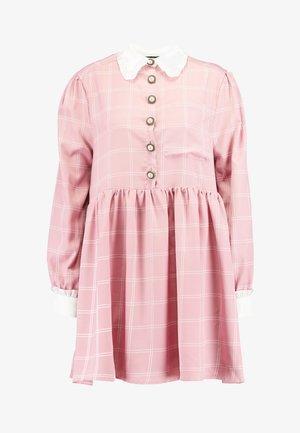 JUST JANE SMOCK DRESS - Shirt dress - pink