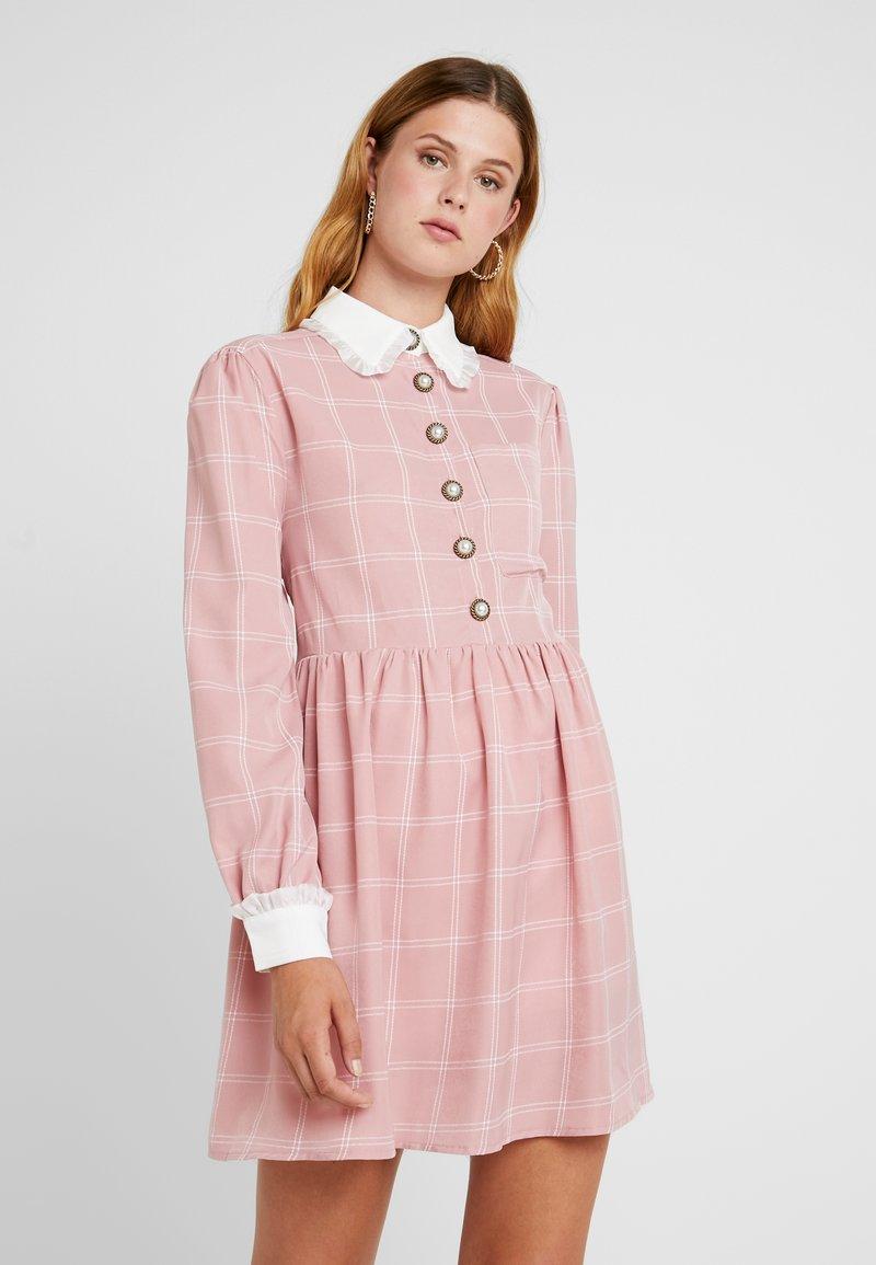 Sister Jane - JUST JANE SMOCK DRESS - Blusenkleid - pink