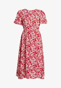 Sister Jane - BLAZE FLARE SLEEVE DRESS - Maxi-jurk - red - 5