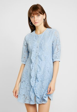 PRECIOUS PETAL MINI DRESS - Korte jurk - light blue