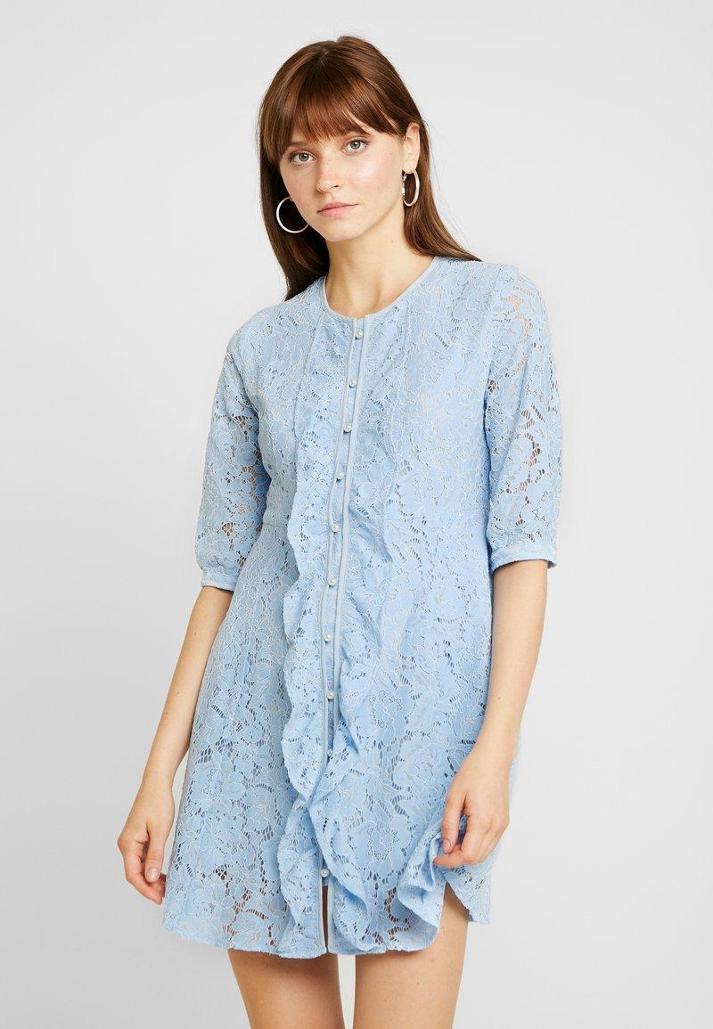 Sister Jane - PRECIOUS PETAL MINI DRESS - Day dress - light blue