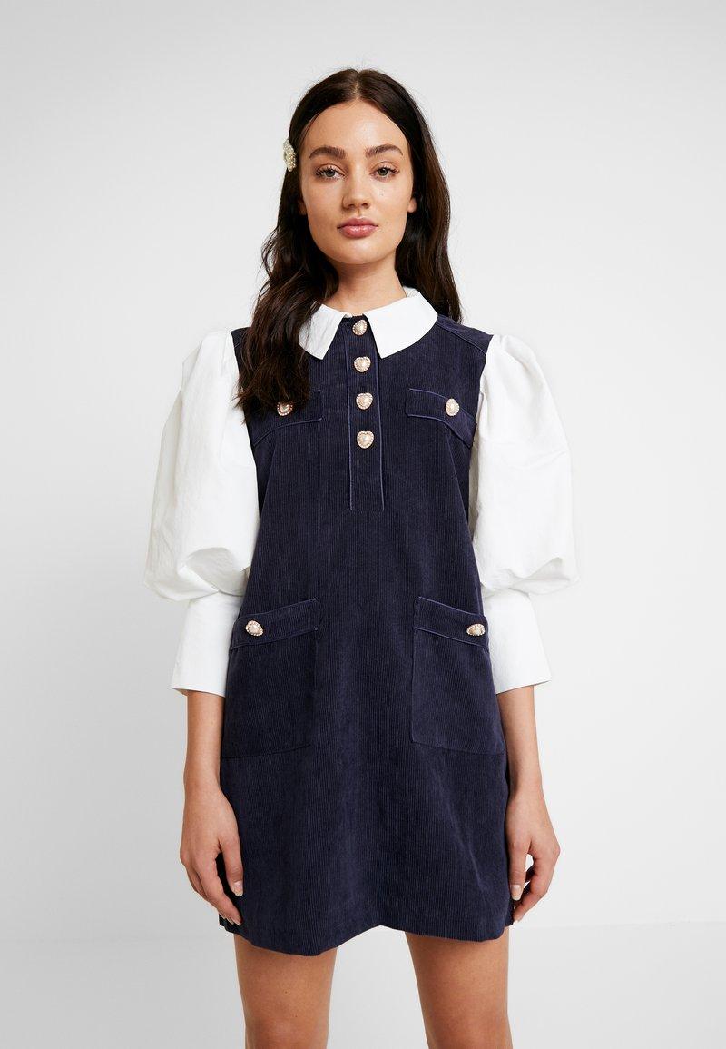 Sister Jane - GAME ON MINI DRESS - Shirt dress - navy