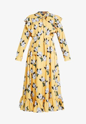 SPECTATE FLORAL PRINT MAXI DRESS - Vestito estivo - yellow