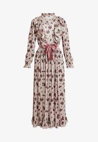 Sister Jane - JOSEPHINE VELVET MIDI DRESS - Suknia balowa - cream - 4