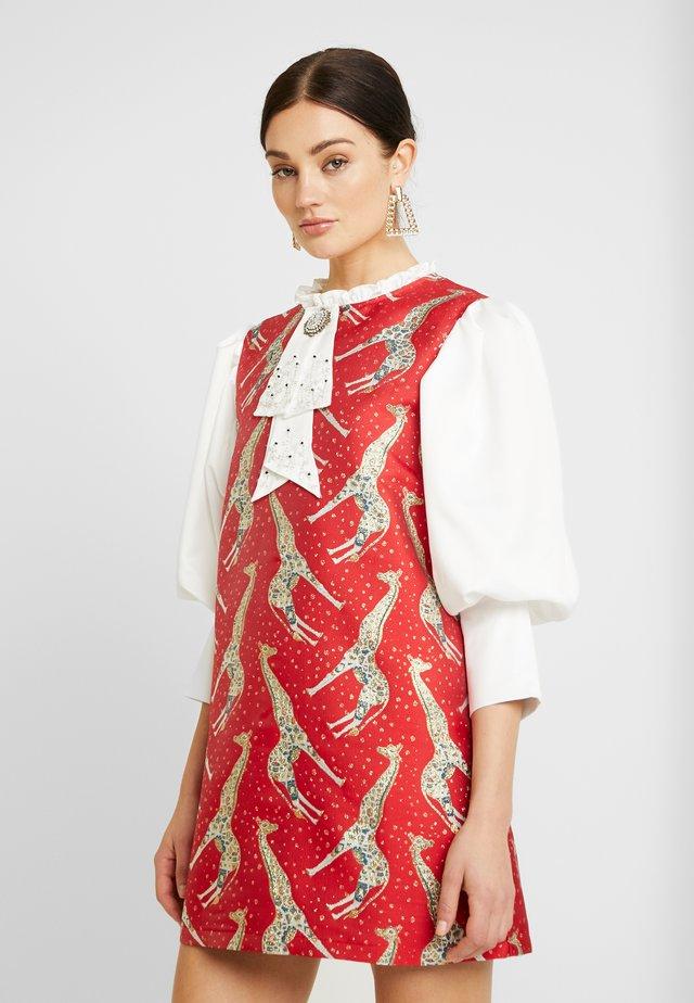 FORTY WINKS MINI DRESS - Sukienka letnia - red