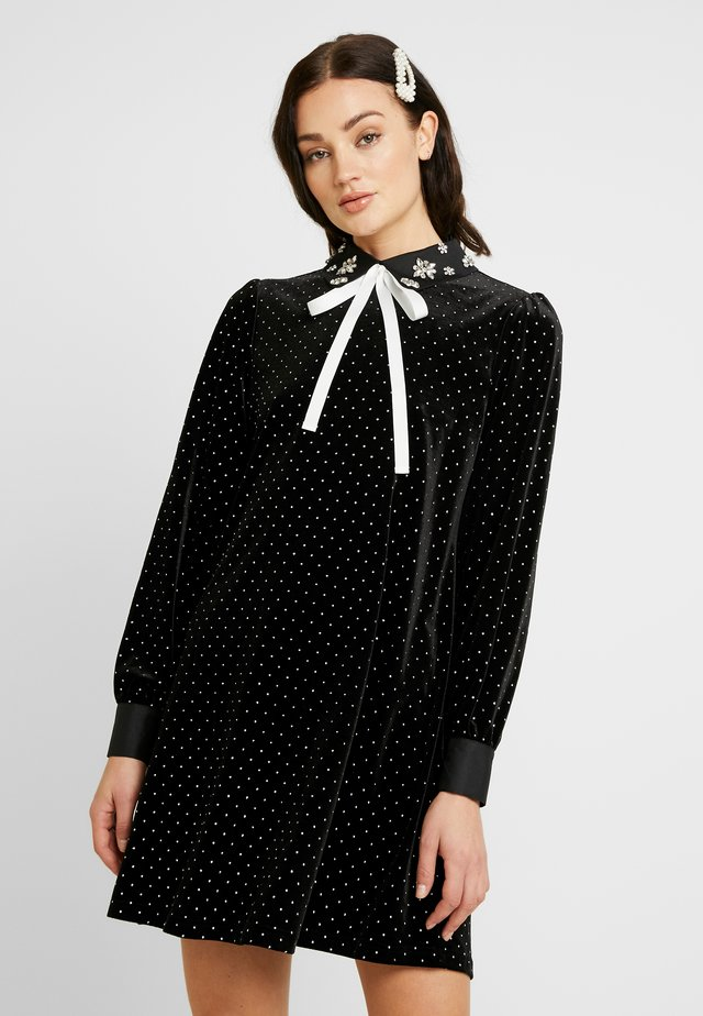 SPARKLE COVEN DRESS - Cocktailklänning - black