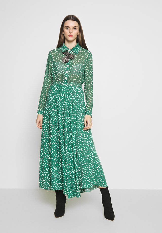 STAR CHARM MIDI DRESS - Maxiklänning - green