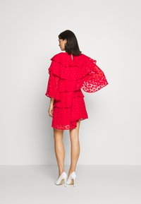 Sister Jane - READY TIERED MINI DRESS - Cocktail dress / Party dress - red - 2