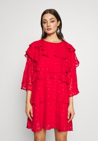 Sister Jane - READY TIERED MINI DRESS - Cocktail dress / Party dress - red - 0