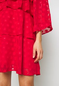 Sister Jane - READY TIERED MINI DRESS - Cocktail dress / Party dress - red - 5