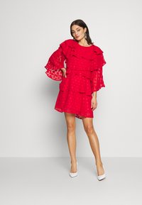 Sister Jane - READY TIERED MINI DRESS - Cocktail dress / Party dress - red - 1