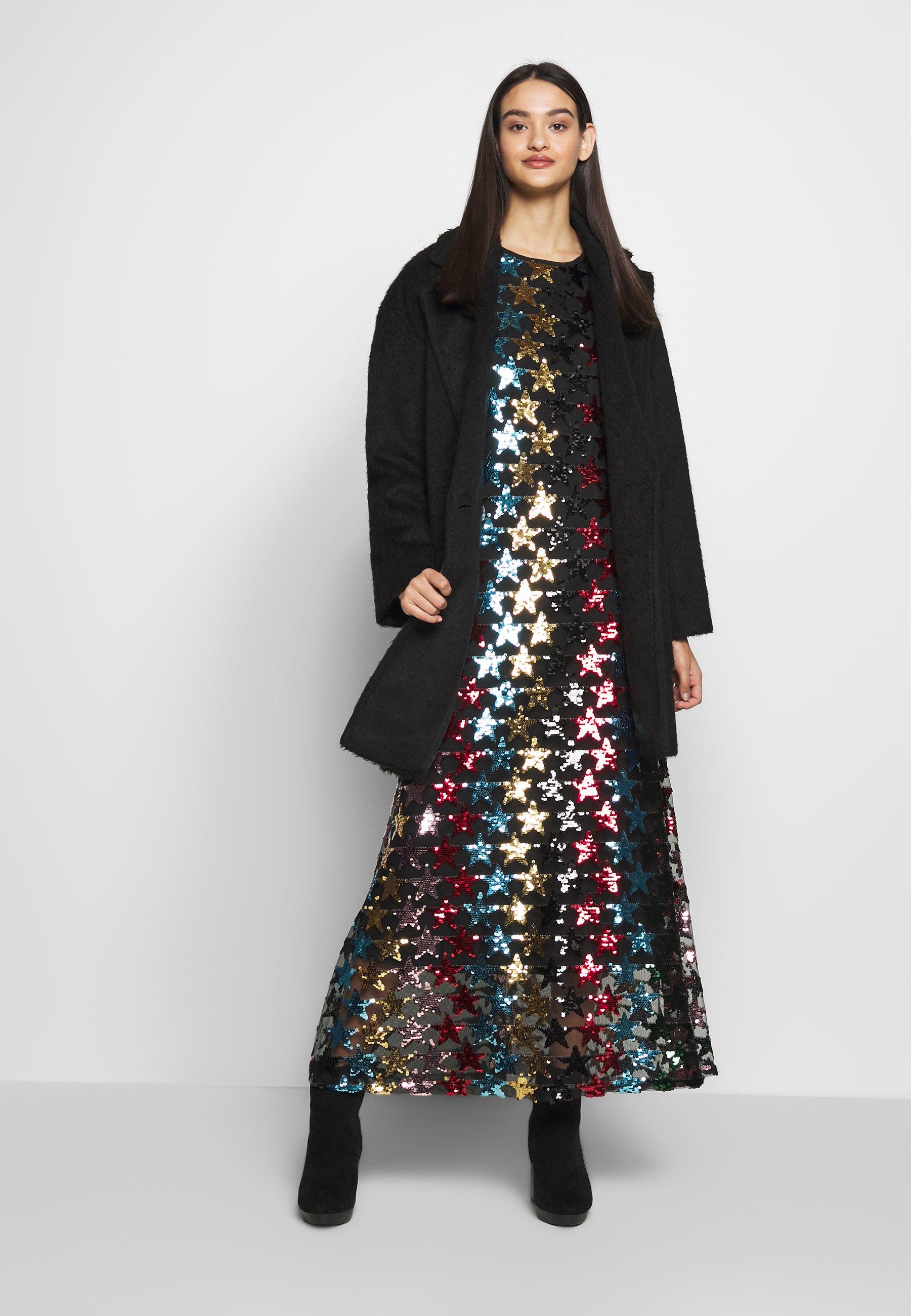 Sister Jane SHOOTING STAR DRESS - Abito da sera - black/multi-coloured