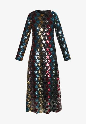 SHOOTING STAR DRESS - Vestido de fiesta - black/multi-coloured