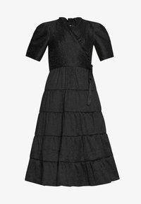 Sister Jane - BACCARA ROSE WRAP DRESS - Korte jurk - black - 3