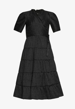 BACCARA ROSE WRAP DRESS - Denní šaty - black