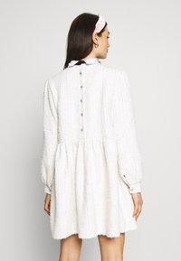 Sister Jane - SNOWDROP TWEED SMOCK DRESS - Juhlamekko - ivory - 2
