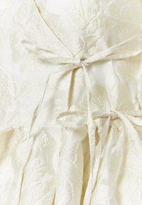 Sister Jane - COWBOY KISSES MINI WRAP DRESS - Sukienka letnia - ivory - 2