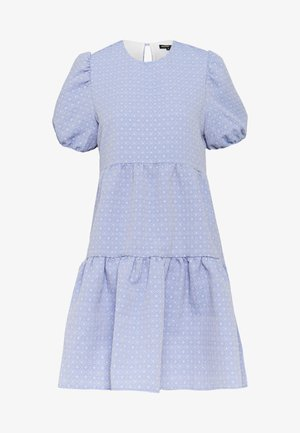 PARADE BABY DOLL MINI DRESS - Day dress - blue