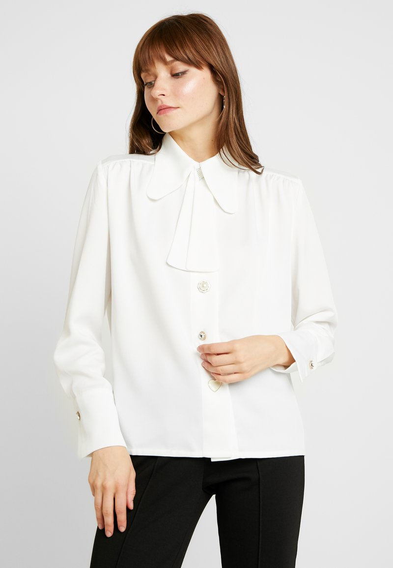 Sister Jane - MERRYWEATHER CRAVAT BLOUSE - Blouse - ivory
