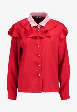 QUARTERS RUFFLE - Overhemdblouse - pink