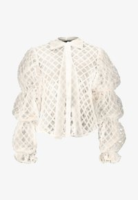 Sister Jane - PILLOW PUFF BOW BLOUSE - Pusero - ivory