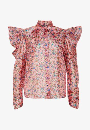 MISSY FLORAL BOW - Overhemdblouse - pink