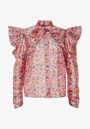 MISSY FLORAL BOW - Skjortebluser - pink