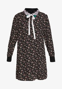 Sister Jane - KINGDOM COVEN DRESS - Skjortekjole - black - 4