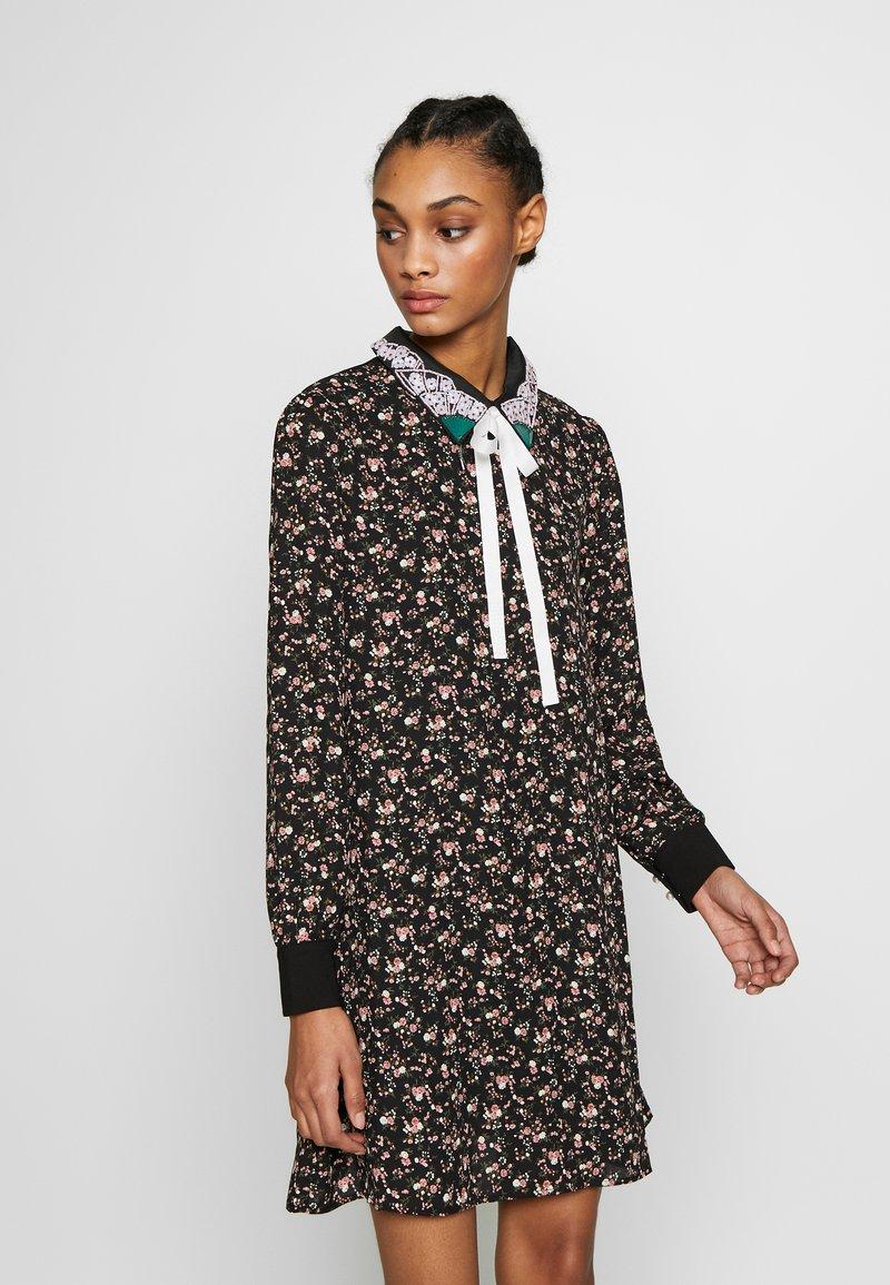 Sister Jane - KINGDOM COVEN DRESS - Skjortekjole - black