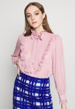 PLUM BLOSSOM BLOUSE - Button-down blouse - pink
